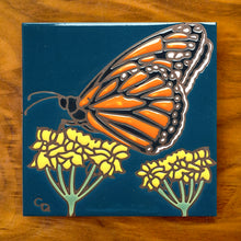 Load image into Gallery viewer, Monarch with Milkweed
