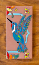 Load image into Gallery viewer, Hummingbirds: Terra Cotta & Turquoise