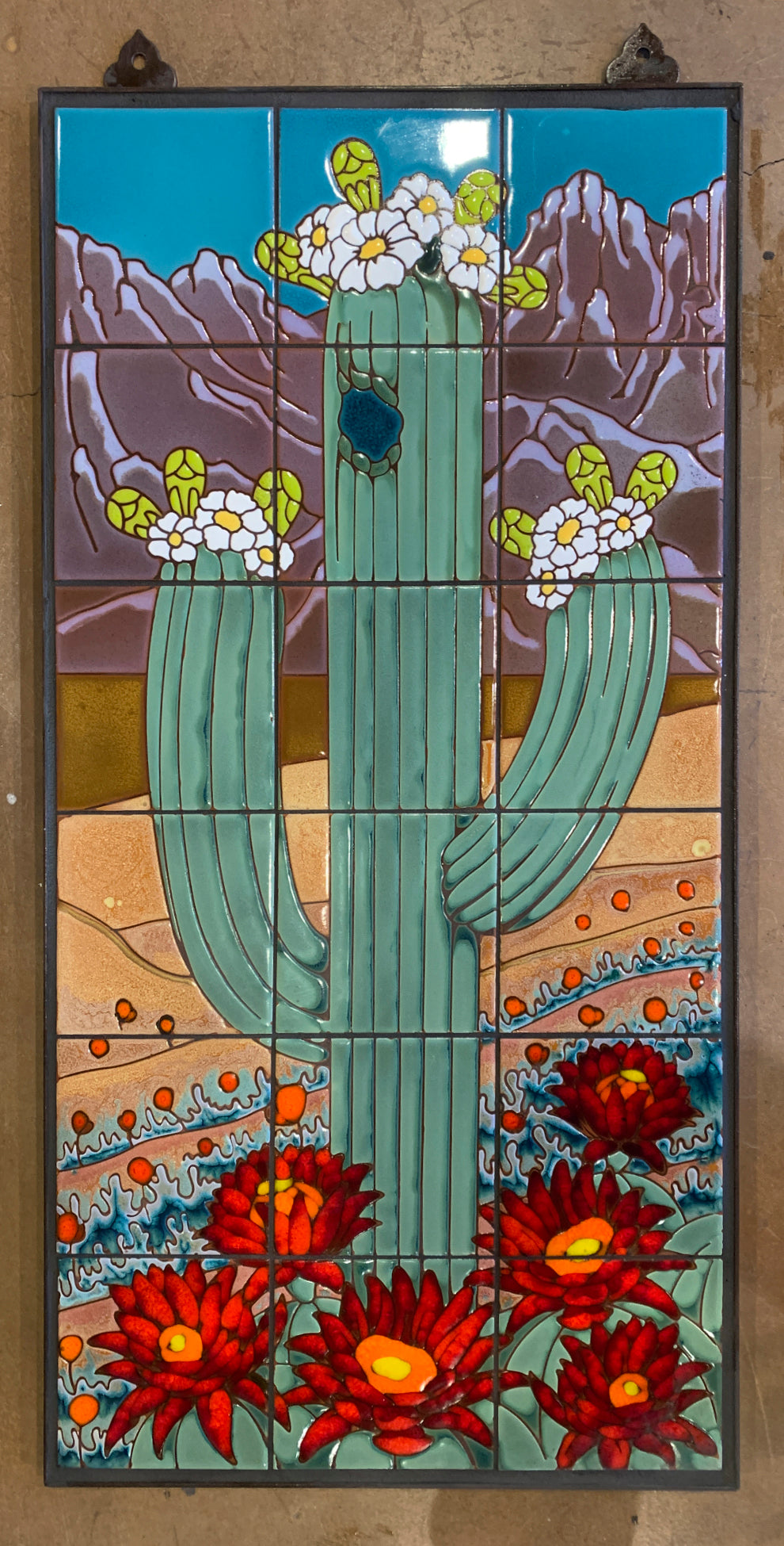 Saguaro with Full Background