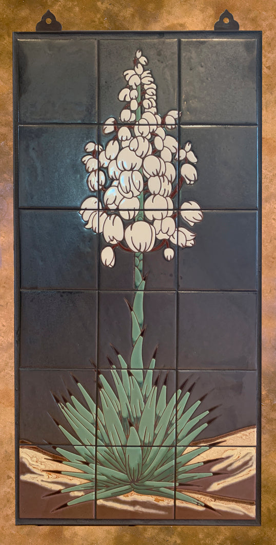 Yucca on Silver