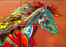 Load image into Gallery viewer, Fire Horse #1 Fine Art Mural
