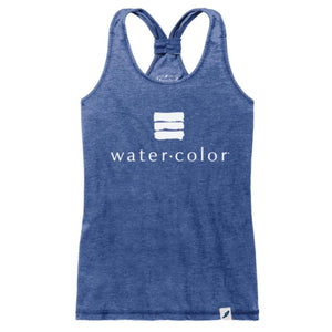WC Royal Burnout Racerback Tank