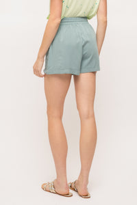 Seafoam Drawstring Short