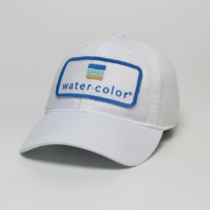 Youth White Twill Hat