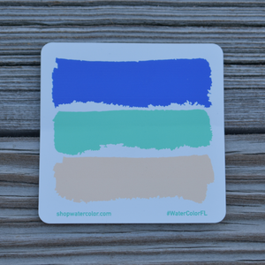 WaterColor Car Decal