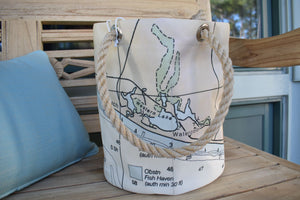 WC Western Lake Beverage Bucket Bag