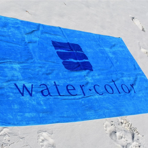 WC Coastal Blue Towel