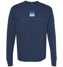 Load image into Gallery viewer, China Blue Unisex LS Tee
