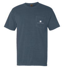 Load image into Gallery viewer, Ice Blue Unisex  Pocket Tee