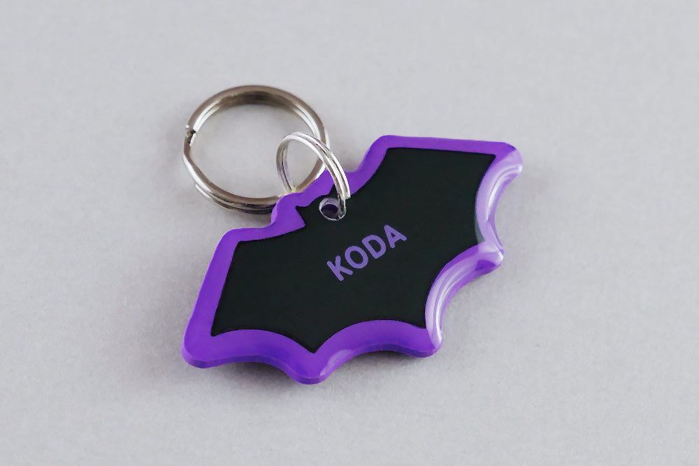 Bat Pet ID Tag - Pixsqueaks