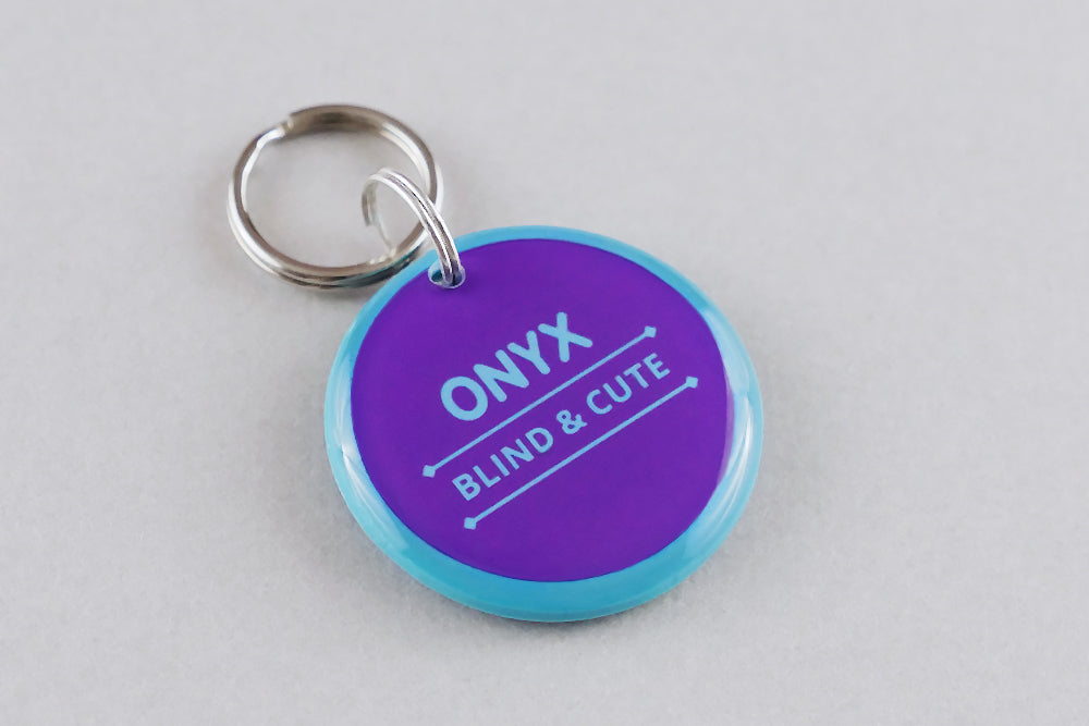 Blind & Cute Pet ID Tag - Pixsqueaks