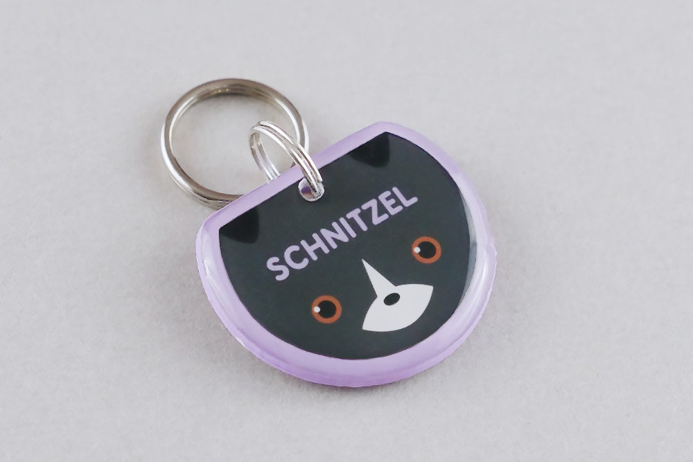 Border Collie Dog ID Tag - Pixsqueaks
