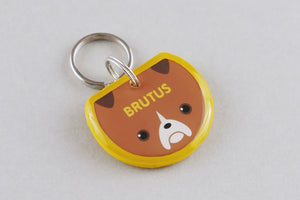 Boxer Dog ID Tag - Pixsqueaks