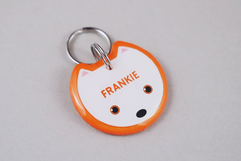 Bull Terrier Dog ID Tag - Pixsqueaks