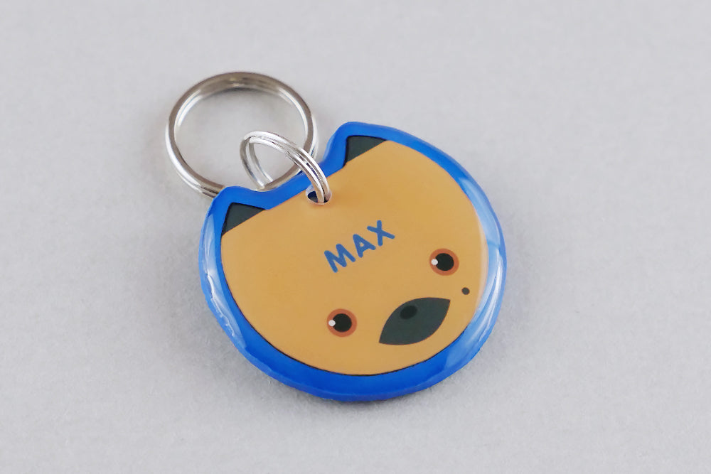 German Shepherd Dog ID Tag - Pixsqueaks