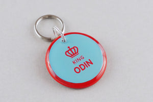 King Crown Pet ID Tag - Pixsqueaks