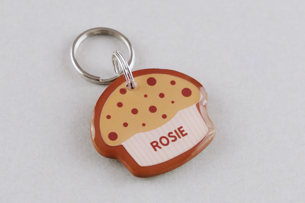 Muffin Pet ID Tag - Pixsqueaks