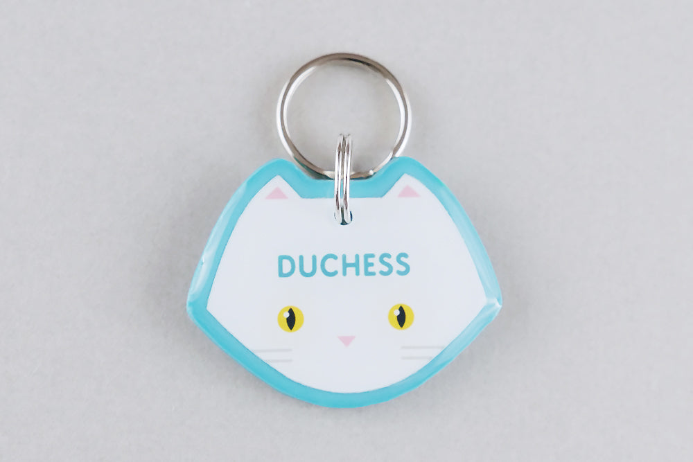 Persian Cat ID Tag - Pixsqueaks