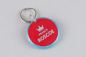 Prince Crown Pet ID Tag - Pixsqueaks