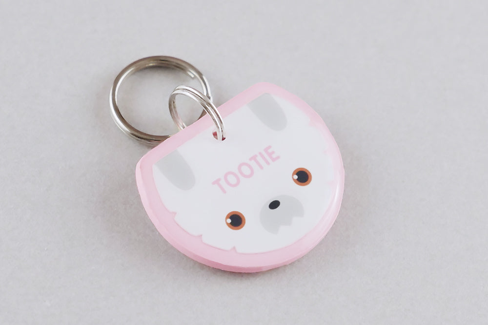 Shih Tzu Dog ID Tag - Pixsqueaks