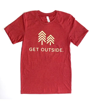 GET OUTSIDE OFFICIAL TEE
