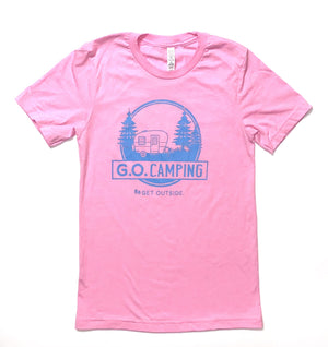G.O. CAMPING UNISEX TEE