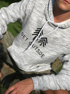 OFFICIAL GET OUTSIDE MARBLE HOODIE