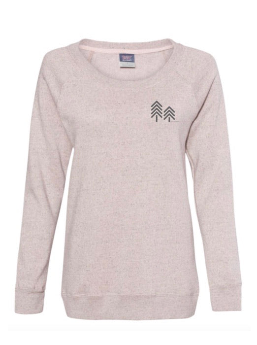 BLUSH CREEK CREWNECK