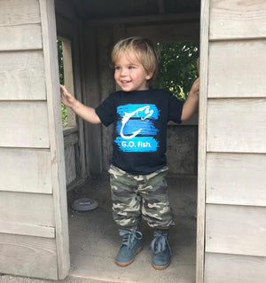 TODDLER LIL' OUTSIDERS G.O. FISH TEE