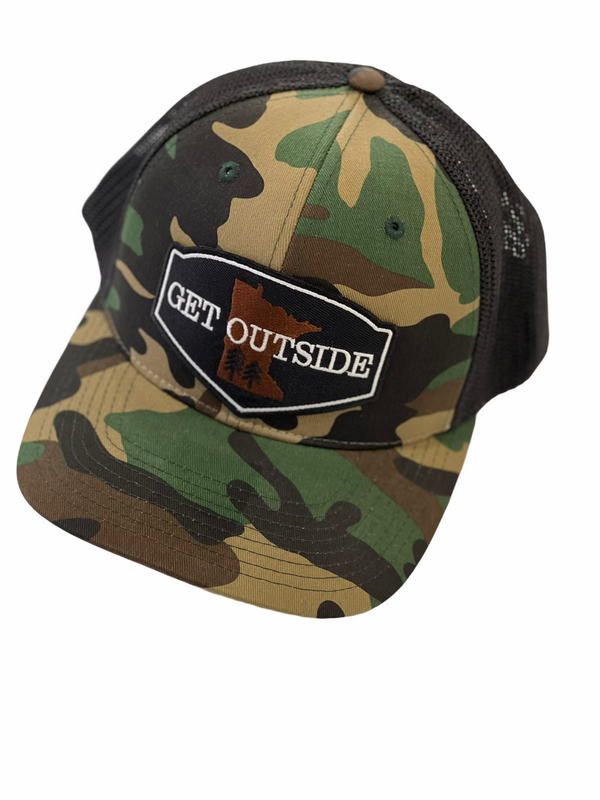 Midway Camo Snapback