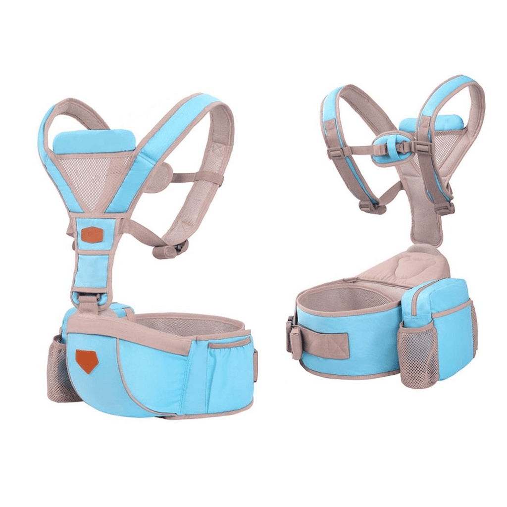 4-in-1 Lightweight Baby Carrier with Hip Seat