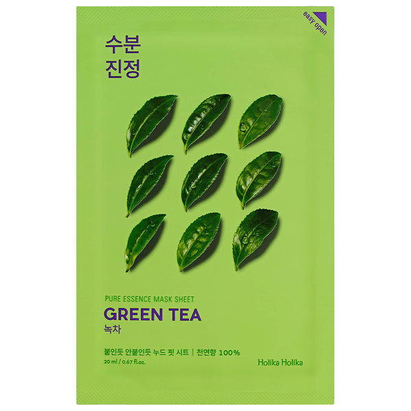 Holika Holika Pure Essence Mask Sheet Green Tea, Sheetmask, Holika Holika, Korean Skincare & Beauty South Africa - Korean Beauty South Africa Kbeauty Korean Skincare k beauty