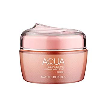 Nature Republic Super Aqua Moisture Watery Cream (Dry Skin), Moisturizer, Nature Republic, Korean Skincare & Beauty South Africa - Korean Beauty South Africa Kbeauty Korean Skincare k beauty
