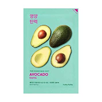 Holika Holika Pure Essence Mask Sheet Avocado, Sheetmask, Holika Holika, Korean Skincare & Beauty South Africa - Korean Beauty South Africa Kbeauty Korean Skincare k beauty