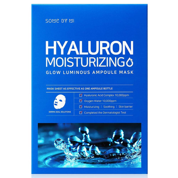 SOMEBYMI Hyaluron Moisturizing Glow Luminous Ampoule Mask, Sheetmask, SOMEBYMI, Korean Skincare & Beauty South Africa - Korean Beauty South Africa Kbeauty Korean Skincare k beauty