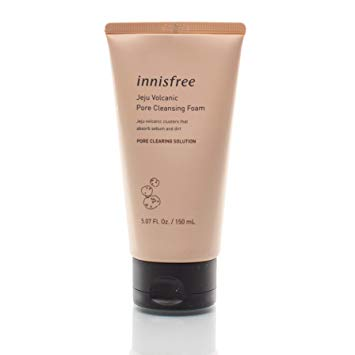 Innisfree Volcanic Pore Cleansing Foam 150ml, Cleanser, Innisfree, Korean Skincare & Beauty South Africa - Korean Beauty South Africa Kbeauty Korean Skincare k beauty