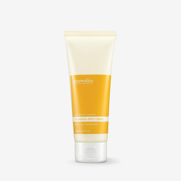 Aromatica Calendula Juicy Cream 150g, Moisturizer, Aromatica, Korean Skincare & Beauty South Africa - Korean Beauty South Africa Kbeauty Korean Skincare k beauty