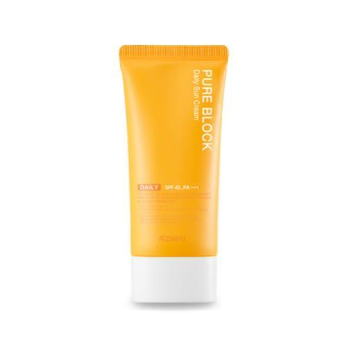 A'Pieu Pure Block Daily Sun Cream 50ml, Sunscreen, Apieu, Korean Beauty South Africa - Korean Beauty South Africa Kbeauty Korean Skincare k beauty