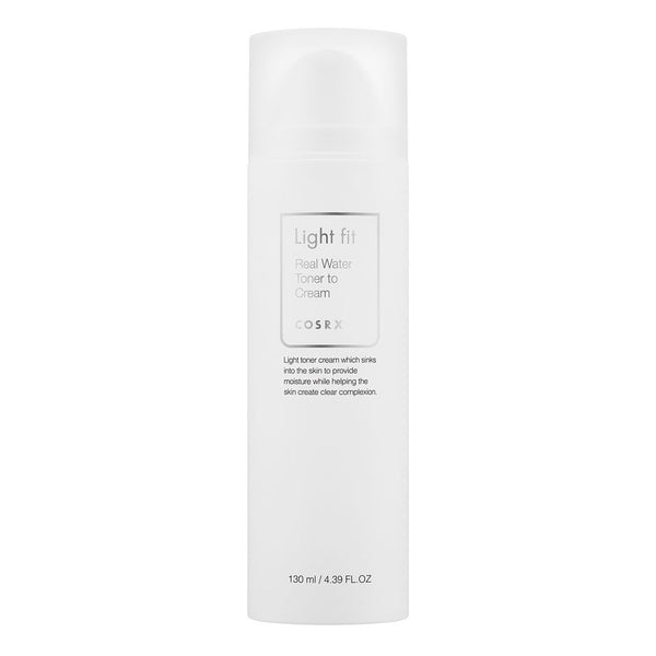 COSRX  Light fit Real Water Toner To Cream 130ml, Toner, COSRX, Korean Skincare & Beauty South Africa - Korean Beauty South Africa Kbeauty Korean Skincare k beauty