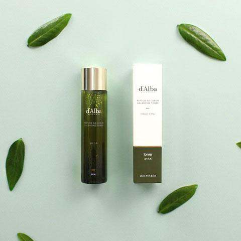 d'Alba Peptide no sebum Balancing Toner 150ml, Toner, d'Alba, Korean Skincare & Beauty South Africa - Korean Beauty South Africa Kbeauty Korean Skincare k beauty