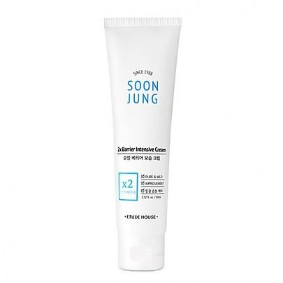 Etude house Soon Jung 2x Barrier Intensive Cream 60ml, Moisturizer, Etude House, Korean Skincare & Beauty South Africa - Korean Beauty South Africa Kbeauty Korean Skincare k beauty
