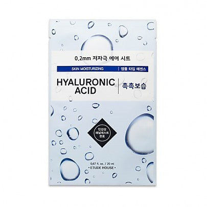 Etude House 0.2 Therapy Air Mask Hyaluronic Acid, Sheetmask, Etude House, Korean Beauty South Africa - Korean Beauty South Africa Kbeauty Korean Skincare k beauty