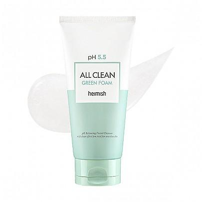 Heimish All Clean Green Foam 150g, Cleanser, Heimish, Korean Skincare & Beauty South Africa - Korean Beauty South Africa Kbeauty Korean Skincare k beauty
