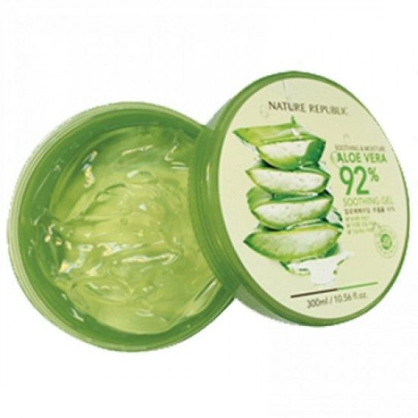 Nature Republic Soothing & Moisture Aloe Vera 92% Soothing Gel 300 ml, Body Lotion, Nature Republic, Korean Skincare & Beauty South Africa - Korean Beauty South Africa Kbeauty Korean Skincare k beauty