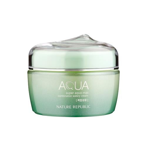 Nature Republic Super Aqua Max Combination Watery Cream (Combination skin), Moisturizer, Nature Republic, Korean Skincare & Beauty South Africa - Korean Beauty South Africa Kbeauty Korean Skincare k beauty