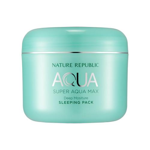 Nature Republic Super Aqua Max Deep Sleeping Pack 100ml, Moisturizer, Nature Republic, Korean Beauty South Africa - Korean Beauty South Africa Kbeauty Korean Skincare k beauty