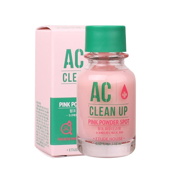 Etude House AC Clean Up Pink Powder Spot - 15ml, Acne Care, Etude House, Korean Beauty South Africa - Korean Beauty South Africa Kbeauty Korean Skincare k beauty
