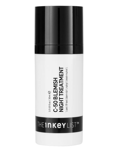 THE INKEY LIST C-50 Blemish Night Treatment( 30ml )