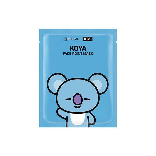 BTS x MEDIHEAL BT21 Face Point Mask Koya