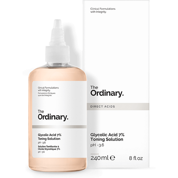 THE ORDINARY Glycolic Acid 7% Toning Solution - 240ml, Toner, The Ordinary, Korean Skincare & Beauty South Africa - Korean Beauty South Africa Kbeauty Korean Skincare k beauty